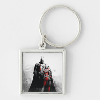 Batman & Harley Key Ring