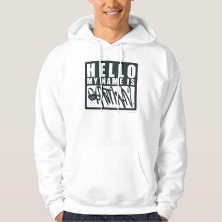 Batman | Hello My Name is Batman Logo Hoodie