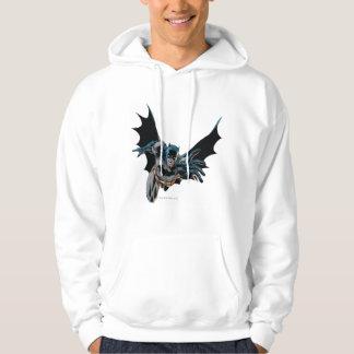 Batman Jumping Forward, Yell Hoodie