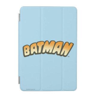 Batman   Orange Halftone Logo iPad Mini Cover