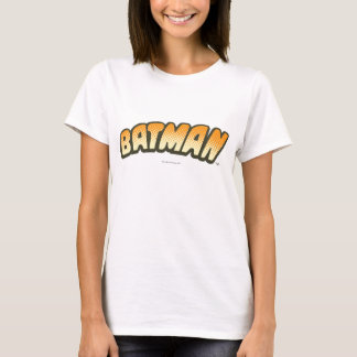 Batman | Orange Halftone Logo T-Shirt
