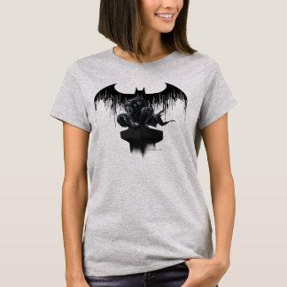 Batman Perched on a Pillar T-Shirt