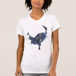 Batman runs with flying cape T-Shirt
