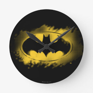 Batman Symbol | Black and Yellow Logo Wallclock