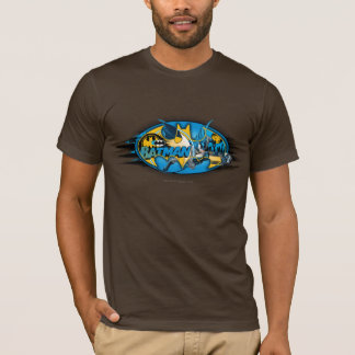 Batman Symbol | Classic Collage Logo T-Shirt