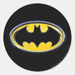 Batman Symbol   Classic Logo Round Sticker