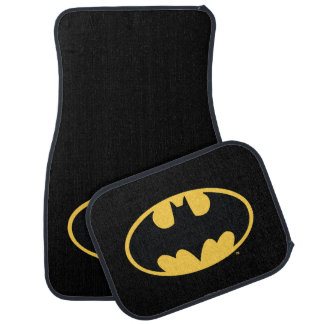 Batman Symbol | Oval Logo Car Mat
