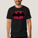 Batman Symbol   Red Black Logo Tshirts