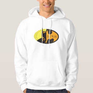 Batman Symbol | Silhouette Logo Hoodie