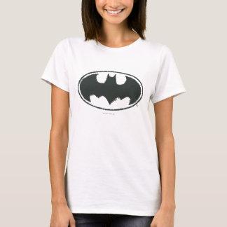 Batman Symbol | Spray Black White Logo T-Shirt