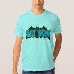 Batman | Vintage Blue Black Logo Tee Shirt