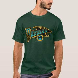 Batman | Vintage Turquoise Logo T-Shirt