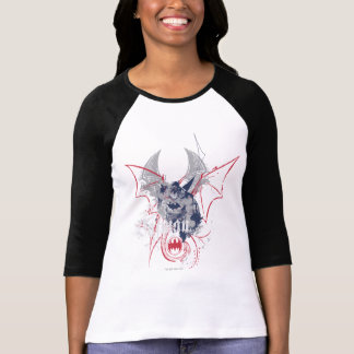 Batman with Grey and Red T-Shirt