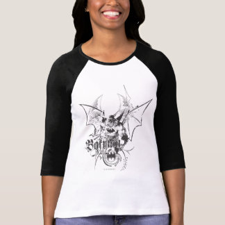 Batman with Logo and Wings T-Shirt