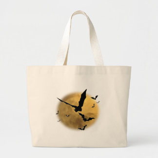 Bats in the Evening Jumbo Tote Bag