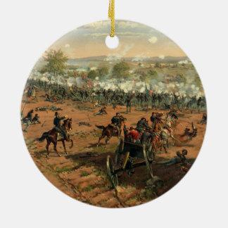 Battle Gettysburg Hancock at Gettysbug Thulstrup Christmas Ornament