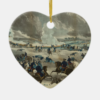 Battle of Gettysburg Water Color Christmas Ornament