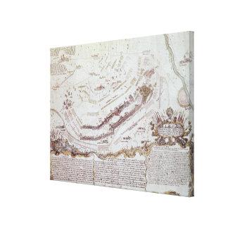 Battle of Kolin in Bohemia, 18th August 1757 Canvas Print