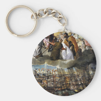 Battle of Lepanto by Paolo Veronese Key Ring