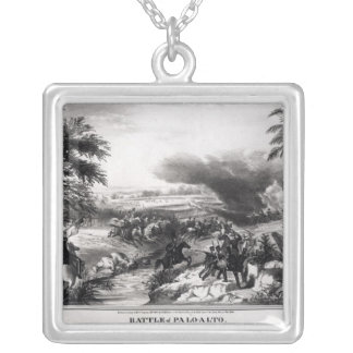 Battle of Palo Alto Silver Plated Necklace