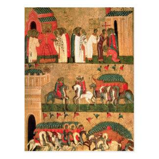 Battle of the Novgorodians with the Suzdalians Postcard