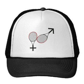 Battle of the Sexes Tennis Mesh Hats