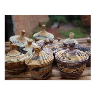 Batwa Baskets Postcard