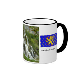 Baume les Messieurs, waterfall Ringer Mug