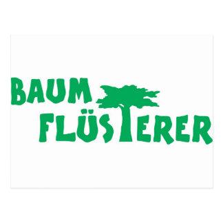 Baumflüsterer Postcard