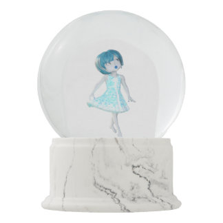 Bawn and Amy Snowglobe Snow Globes