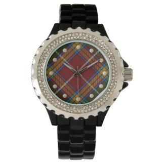 Baxter Tartan Rhinestone Watch