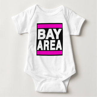 Bay Area Pink Baby Bodysuit