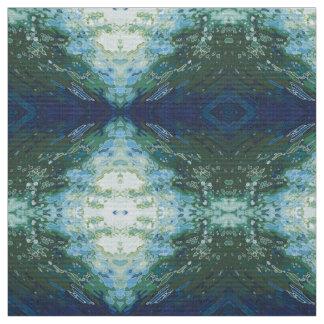 'Bay' Coastal Decor Blue Gray Green Fabric Juul