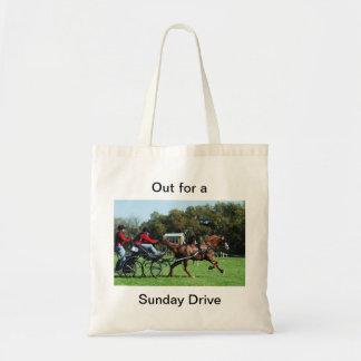 bay horse tote bag