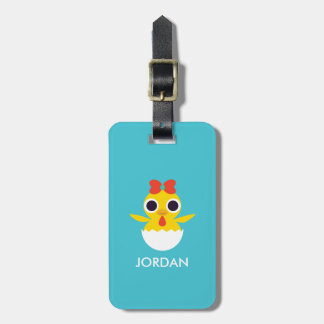 Bayla the Chick Luggage Tag