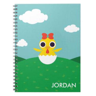 Bayla the Chick Spiral Notebook