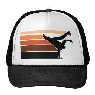 BBOY gradient orgn blk hat
