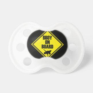 Bboy On Board Pacifier