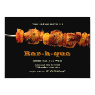BBQ/Barbeque Party Invitation