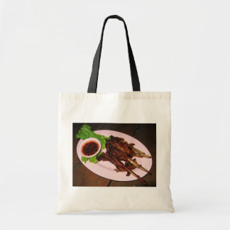 BBQ Duck Beaks ... Thai Asian Street Food Tote Bag