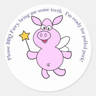 BBQ Fairy Stickers