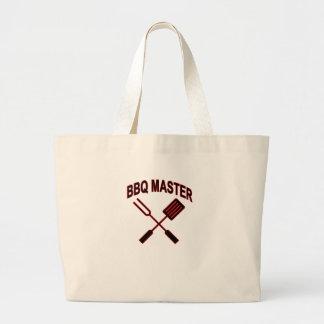 BBQ MASTER LARGE TOTE BAG