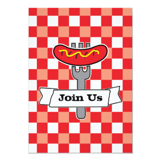 BBQ Picnic Invitation