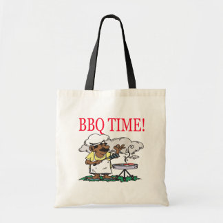 BBQ Time Tote Bag