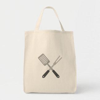 BBQ Utensils Tote Bag