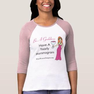 Be A Goddess, Have A Mammogram Wine Goddess BCA T-Shirt
