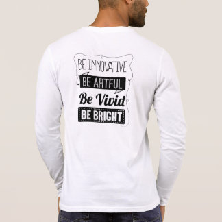 Be BRIGHT Henley Long-Sleeve Shirt Men s