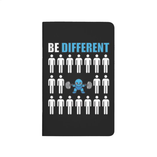 Be Different - Kawaii Anime Bodybuilding Workout Journal