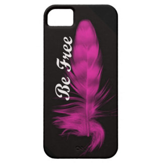 Be Free Feather iphone case