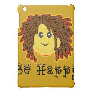 Be Happy Rasta Mon Smiley Dreadlocks Cover For The iPad Mini